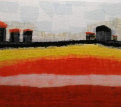 Tanarug - Collage Fabric Scenery 07 - 150 X 130 - 30