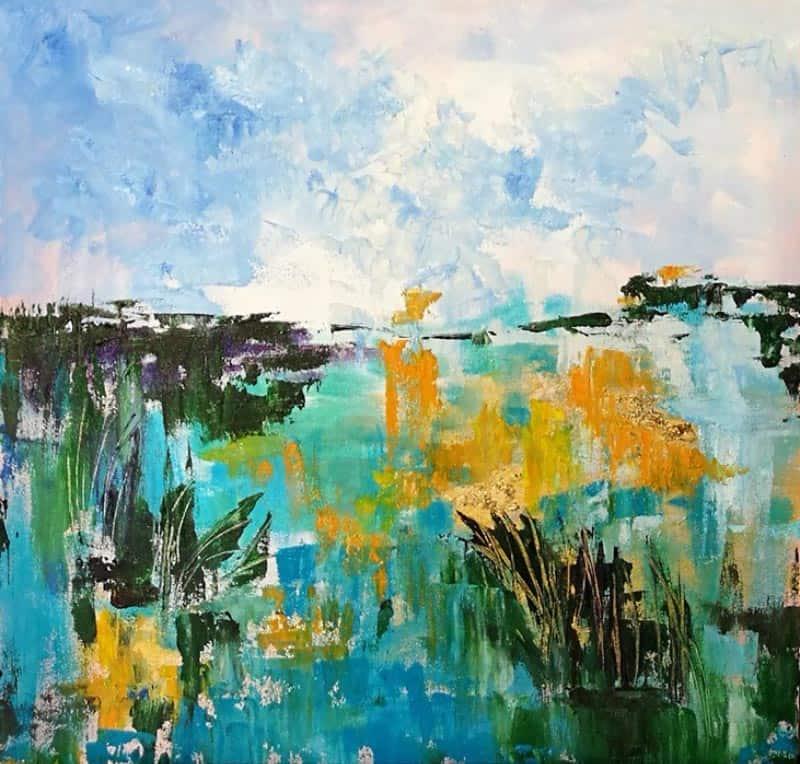 Tanida - Abstract 01 - 50 x 50 - 2-5