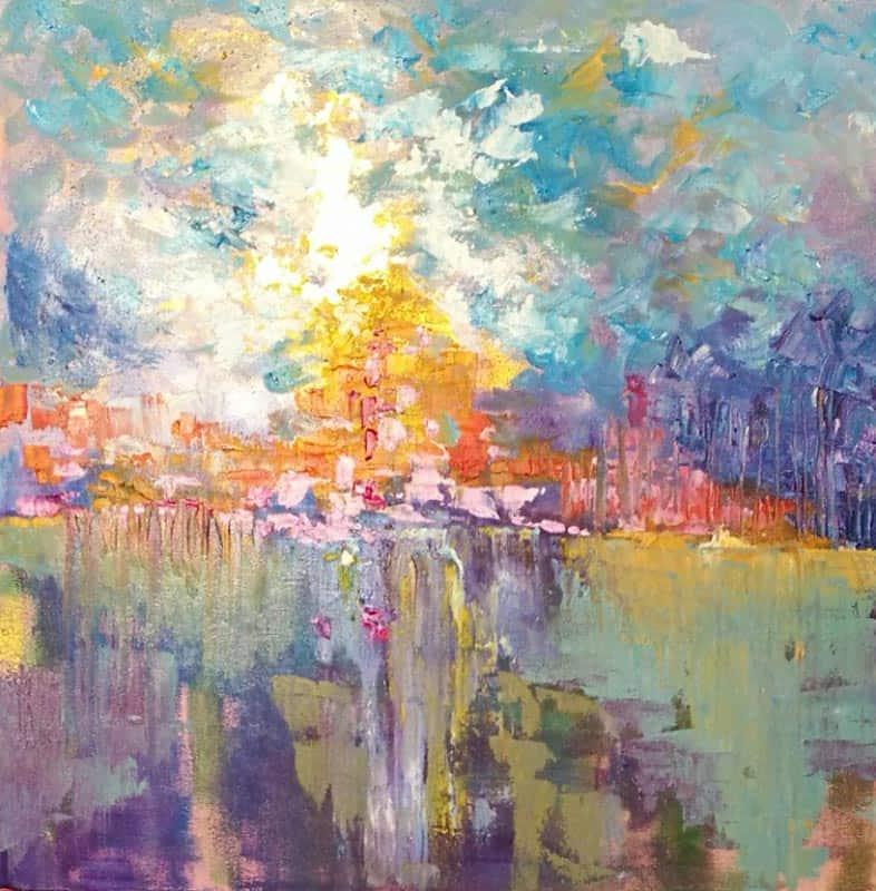 Tanida - Abstract 03 - 50 x 50 - 2-5