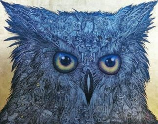 Wittaya - The Owl - 90 x 70 - 50