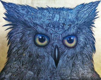Wittaya - The Owl - 90 x 70 - 50