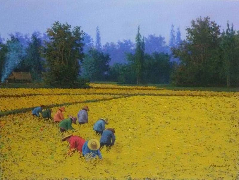 Anurak - Farmers 63 - 80 x 60 - 6
