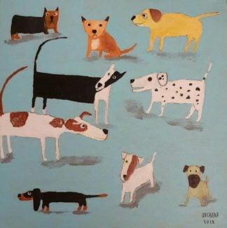 Ja - Dogs 04 - 25 x 25 - 09