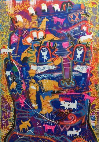 Jakkrit - Painting 61 - 120 x 170 - 35