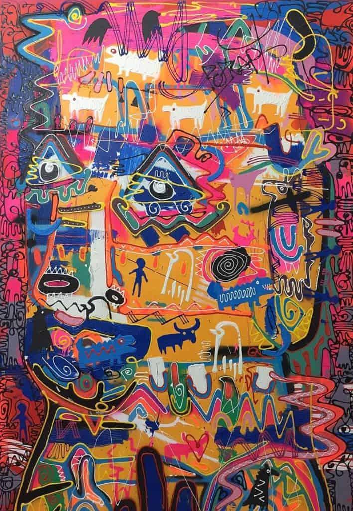 Jakkrit - Painting 62 - 120 x 170 - 35