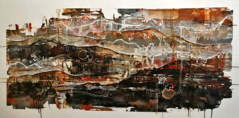Noi - Abstract 33 - 180 x 90 - 25