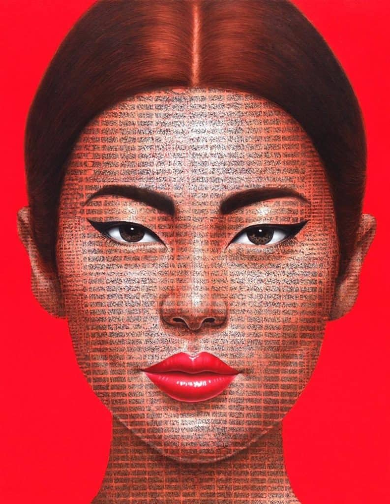 Petch - Portrait 92 - 80 x 100 - 20