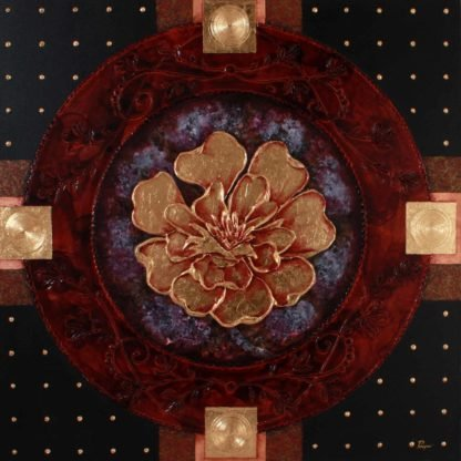 Pinya - Flowers Painting Lotus - 12 - 12