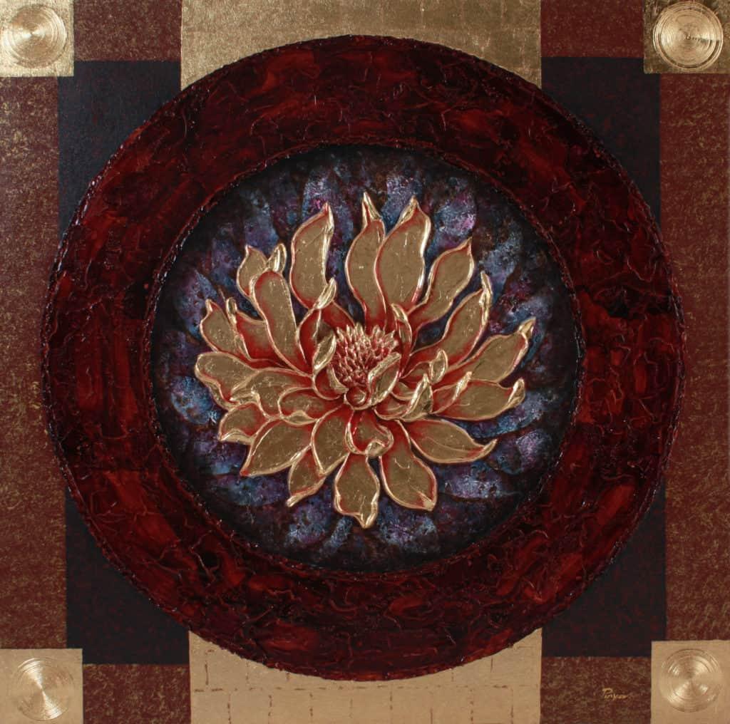 Pinya - Flowers Painting Lotus - 18 - 12Pinya - Flowers Painting Lotus - 18 - 12