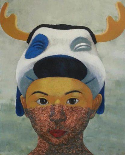 Pramaul - The girl -135 x 165 - 55