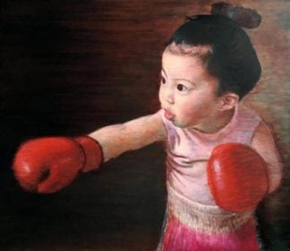 Thitithep - Punch Girl - 150 x 130 - 48