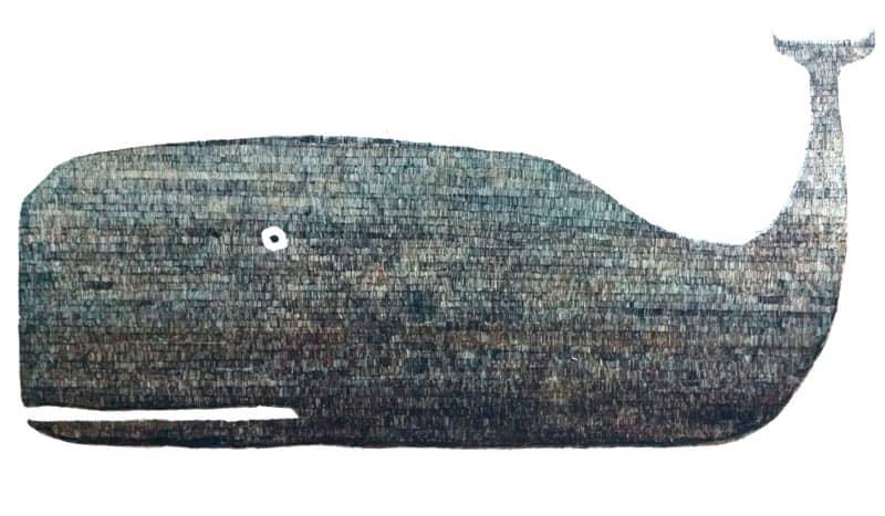 Yuwana - Whale - 93 x 64 - 14-5