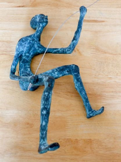 mountain climbers sculpture brass - 140