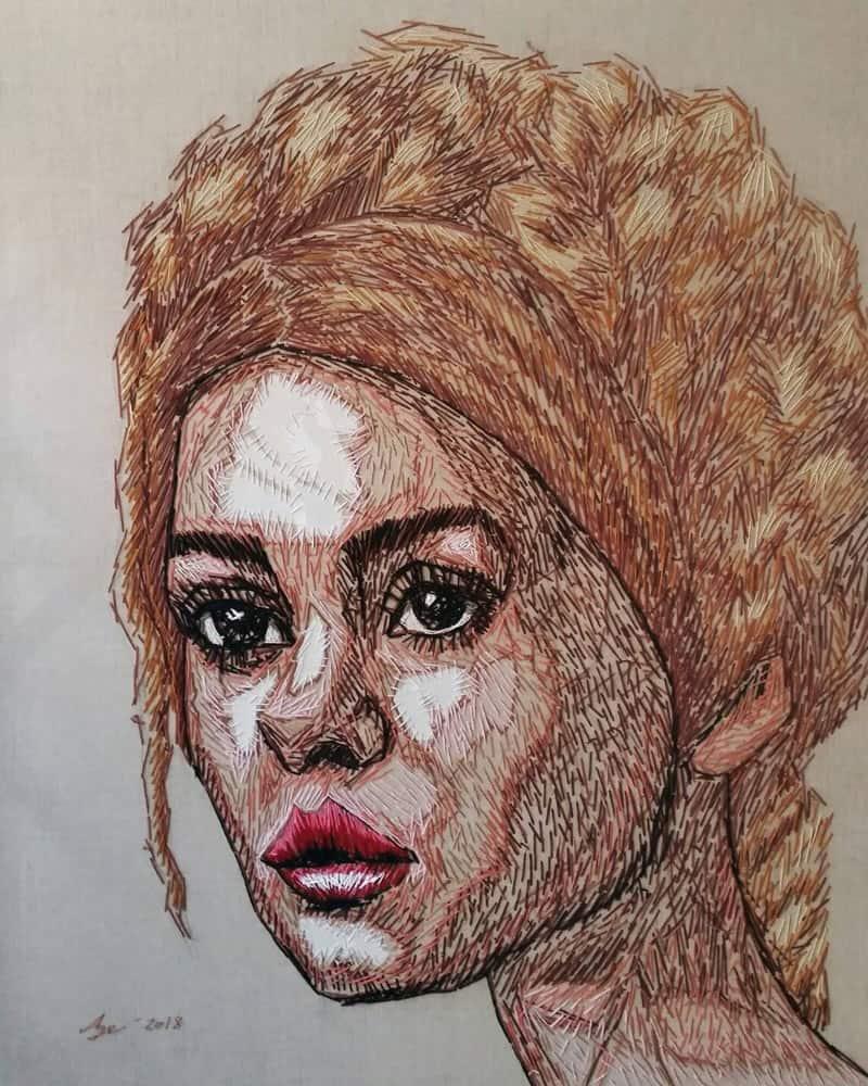 Age - Portrait 68 - 120 x 150 - 40