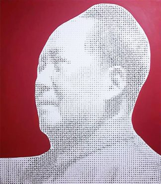 Anuchit - Mao Zedong (Red) - 150 x 170 - 45