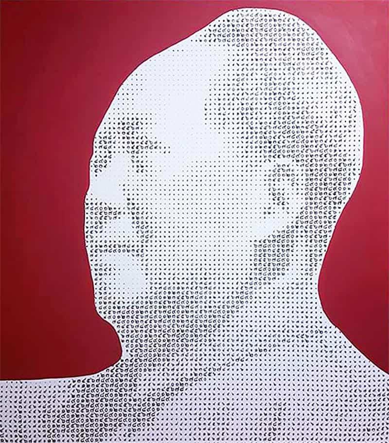 Anuchit - Mao Zedong (Red) - 150 x 170 - 45
