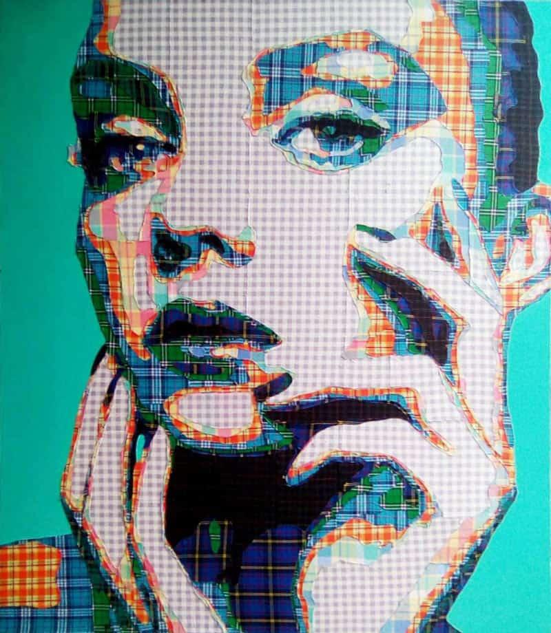Boat - Collage Portrait 08 - 120 x 140 - 18
