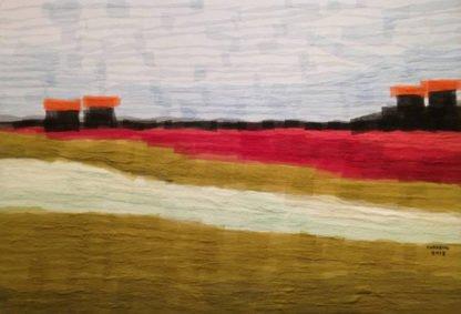 Tanarug - Collage Fabric Scenery 10 - 130 x 90 - 18