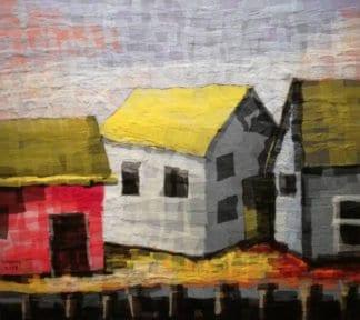 Tanarug - Collage Fabric Scenery 15 - 100 x 90 - 15