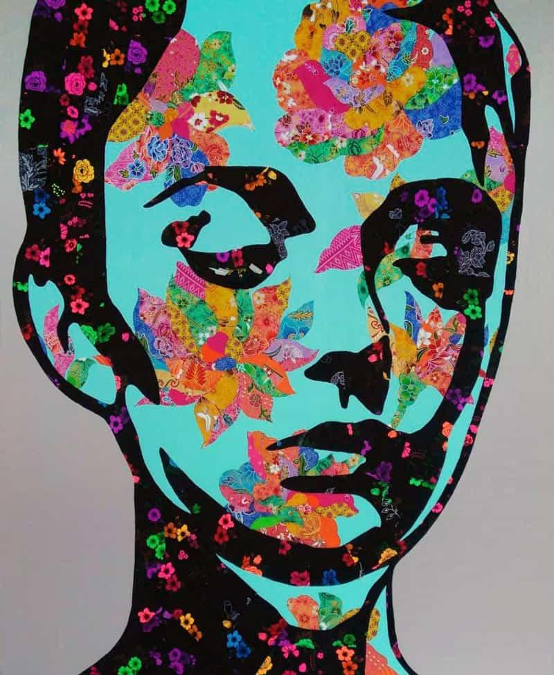 Tanawat - Collage Portrait 27 - 120 x 140 - 15