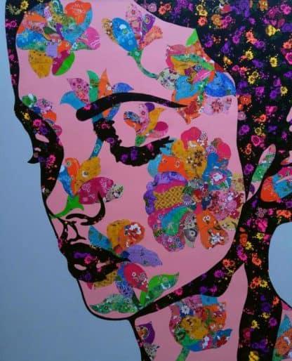 Tanawat - Collage Portrait 29 - 120 x 140 - 15