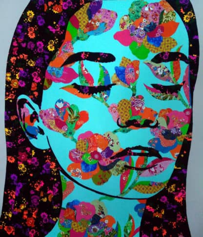 Tanawat - Collage Portrait 31 - 120 x 140 - 15