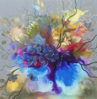Tor - Flower 43 - 100 x 100 - 18