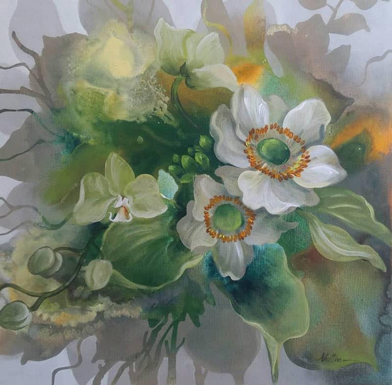 Tor - Flower 44 - 60 x 60 - 4-5