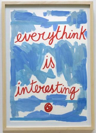 Ugo Li - Everythink Is Interesting - 46 x 64 -15