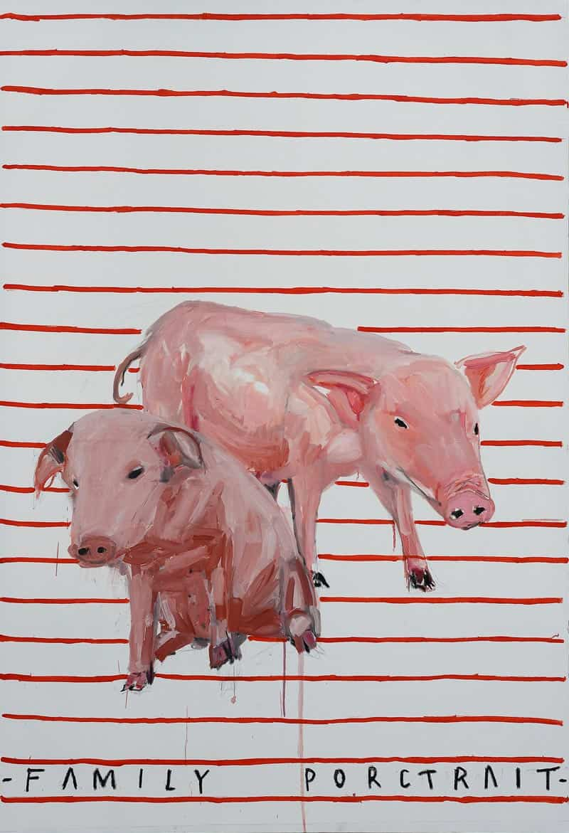 Ugo Li - Family Porctrait - 110 x 160 - 50