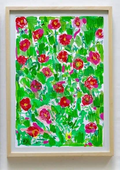 Ugo Li - Flower - 46 x 64 -15