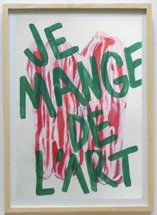 Ugo Li - Je Mange De L'Art - 46 x 64 -15