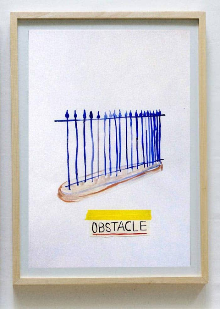 Ugo Li - Obstacle - 46 x 64 -15