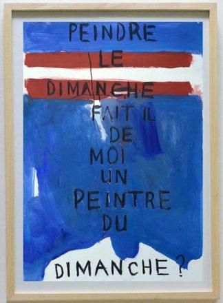 Ugo Li - Peintre Du Dimanche - 46 x 64 -15