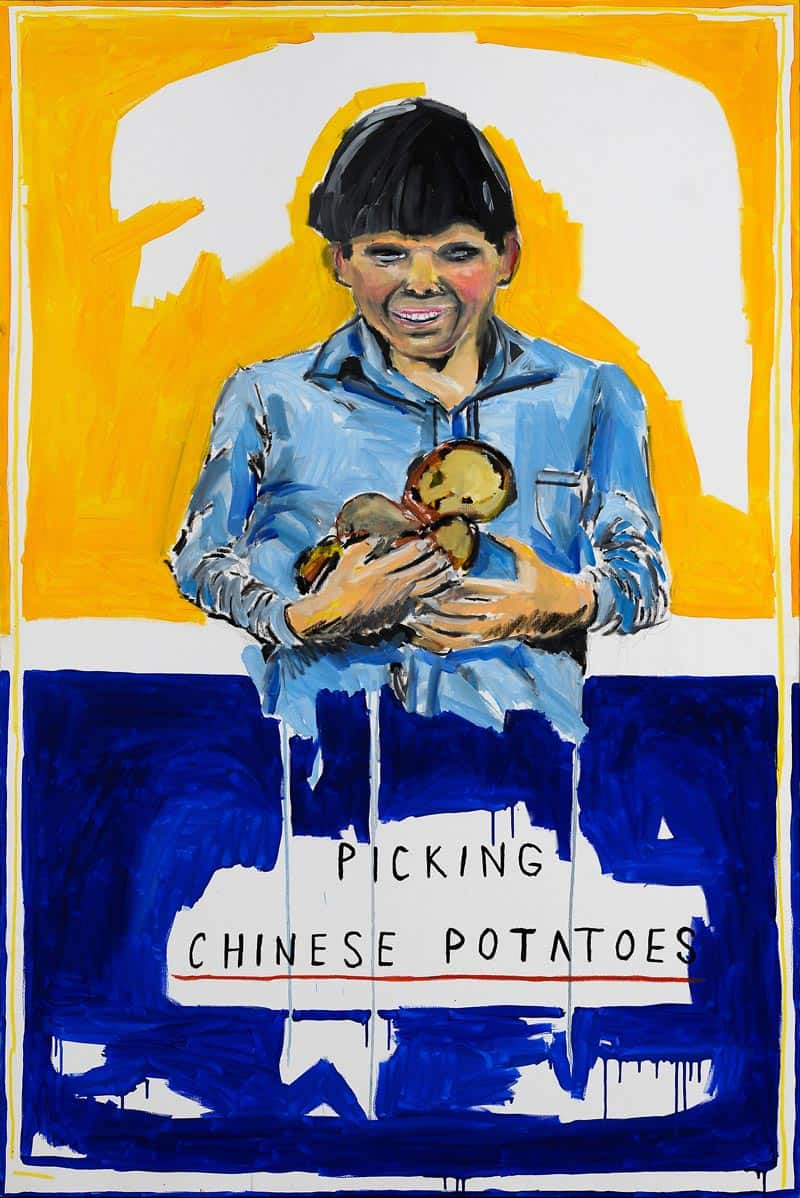 Ugo Li - Picking Chinese Potatoes - 120 x 190 - 50