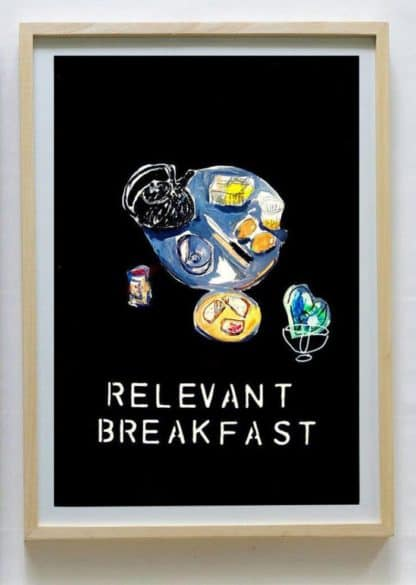Ugo Li - Relevant Breakfast - 46 x 64 -15
