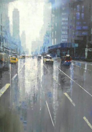 Warapote - Cityscape 10 - 70 x 90 - 5