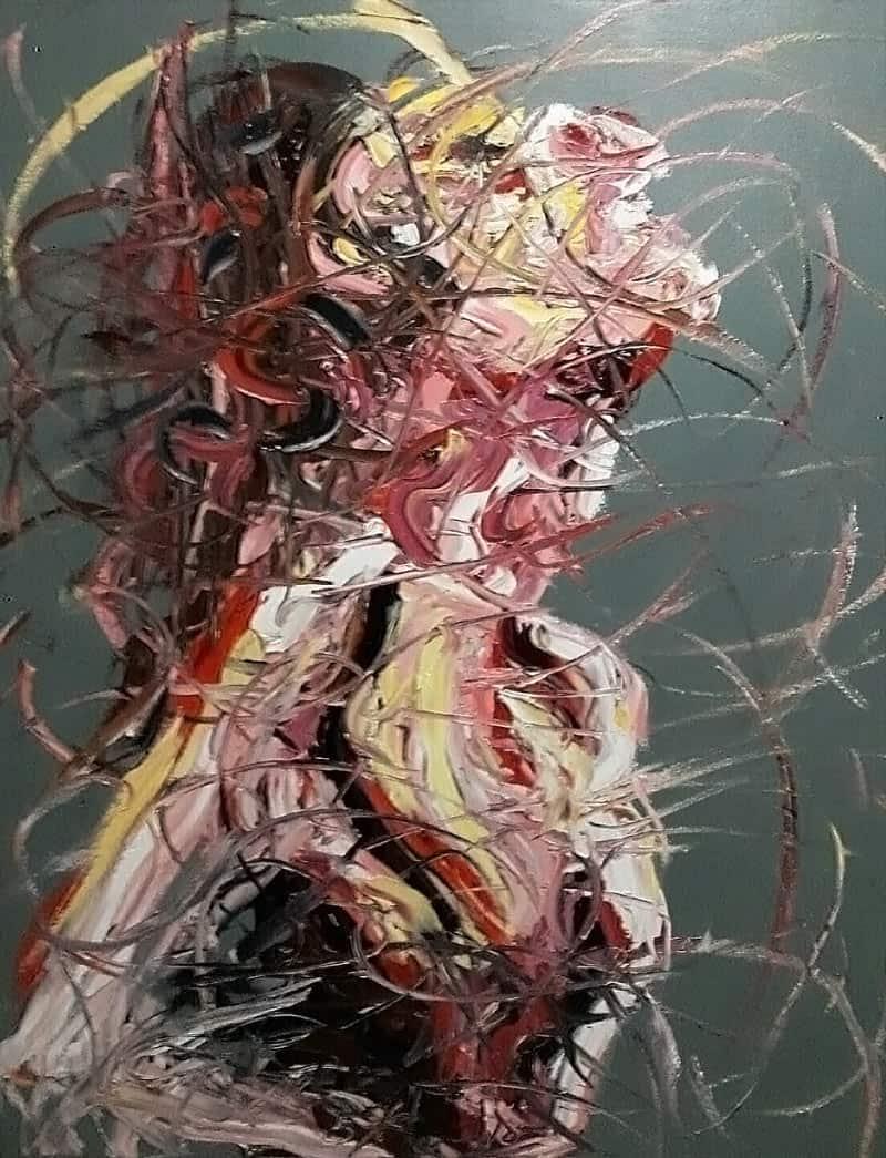Worapol - Painting 38 - 120 x 150 - 110