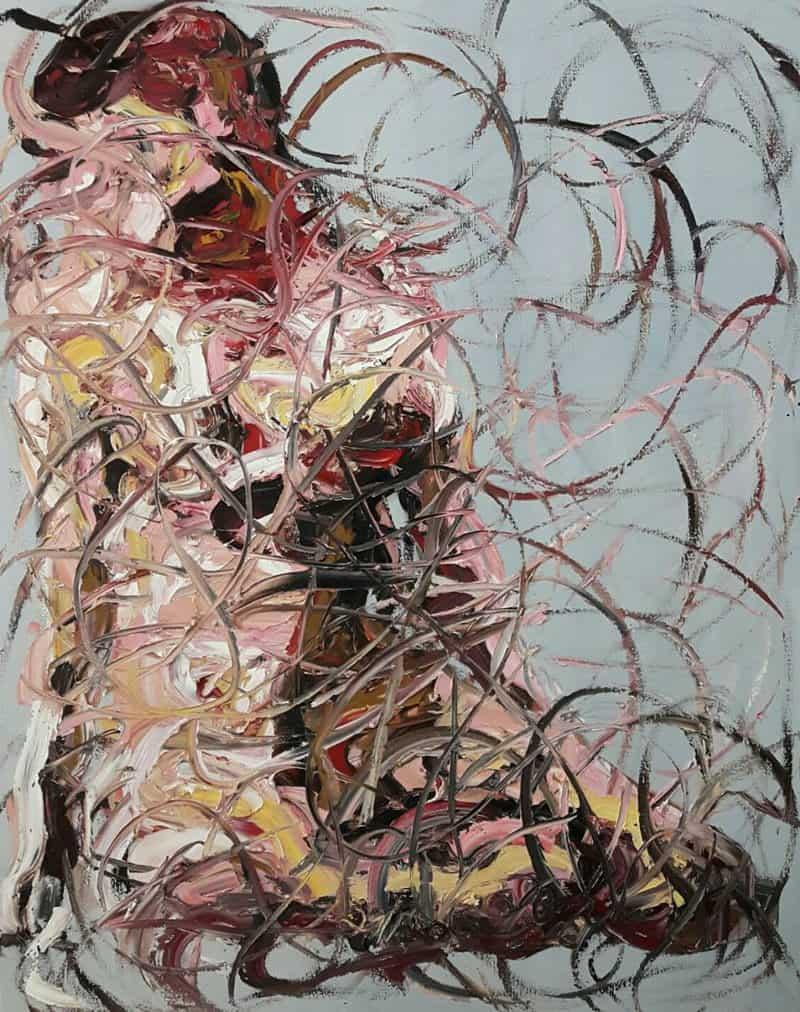 Worapol - Painting 39 - 120 x 150 - 110
