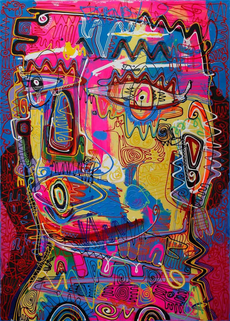 Jakkrit - Painting 73 - 120 x 170 - 35