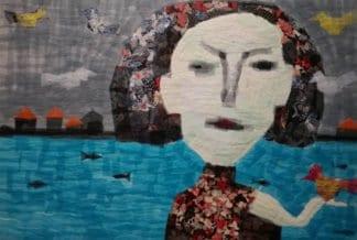 Tanarug - Collage Fabric 18 - 130 x 90 - 18