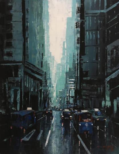 Warapote - Cityscape 17 - 70 x 90 - 5