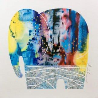 Bui - Elephant 27 - 90 x 90 - 15