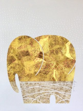 Bui - Gold Elephant 28 - 90 x 120 - 18