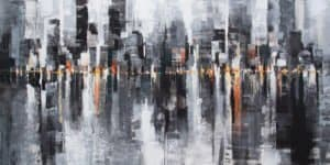Gittisak - Life is not Black and White (Diptych)- 140 x 70 - 12