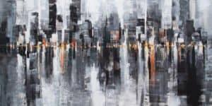 Gittisak - Life is not Black and White (Diptych)- 140 x 70 - 12