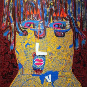 Jakkrit - Painting 74 - 150 x 150 - 40