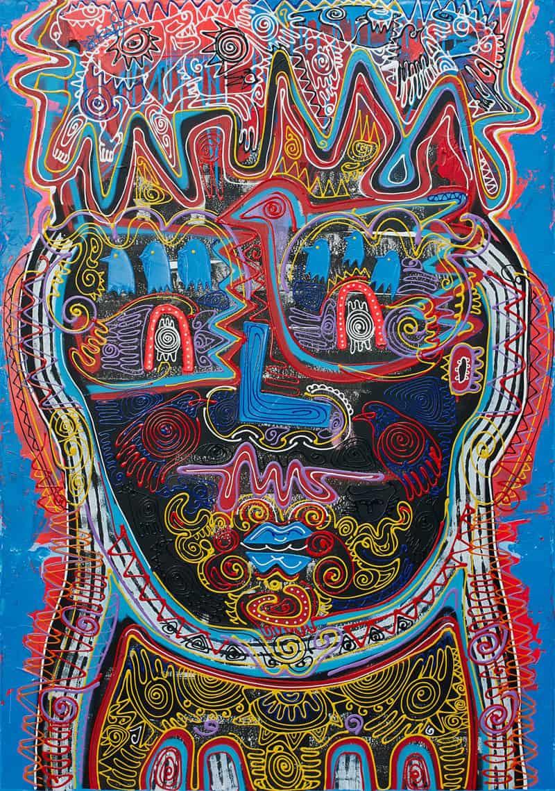 Jakkrit - Painting 76 - 120 x 170 - 35
