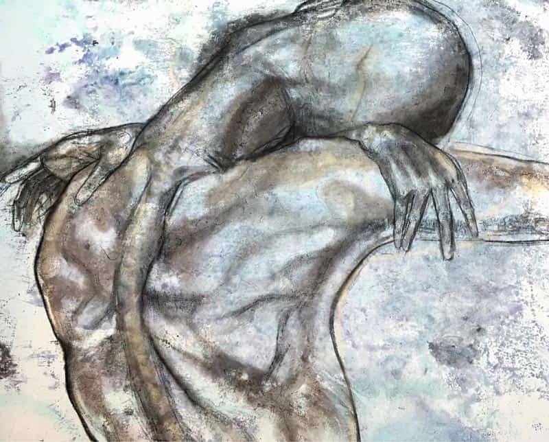 Mitr - Painting 11 - 100 x 100 - 17