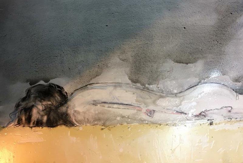 Mitr - Painting 15 - 120 x 80 - 18
